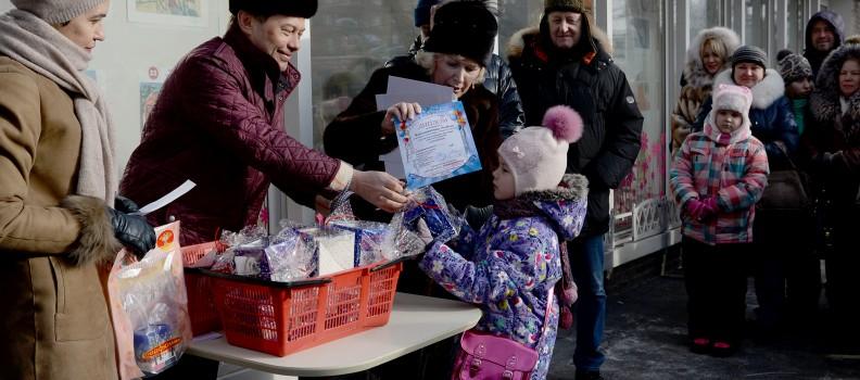 Zolotaya Seredina Experiments with the Customers of Parfyumika (Novosibirsk)